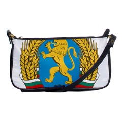Coat Of Arms Of Bulgaria (1948-1968) Shoulder Clutch Bags by abbeyz71