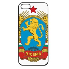 Coat Of Arms Of Bulgaria (1948 1968) Apple Iphone 5 Seamless Case (black) by abbeyz71