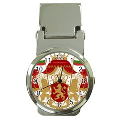 Coat Of Arms Of Bulgaria (1881-1927) Money Clip Watches by abbeyz71