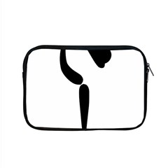 Figure Skating Pictogram Apple Macbook Pro 15  Zipper Case by abbeyz71