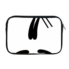 Freestyle Skiing Pictogram Apple Macbook Pro 17  Zipper Case