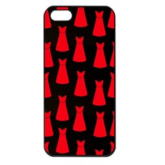 Dresses Seamless Pattern Apple Iphone 5 Seamless Case (black) by Nexatart