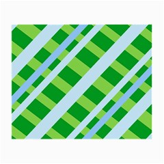 Fabric Cotton Geometric Diagonal Small Glasses Cloth (2 Side) by Nexatart