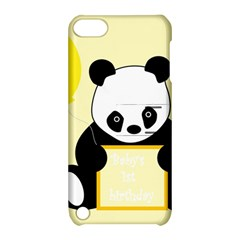 First Birthday Panda Card Apple Ipod Touch 5 Hardshell Case With Stand by Nexatart