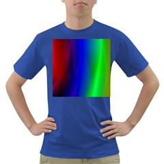 Graphics Gradient Colors Texture Dark T-shirt by Nexatart