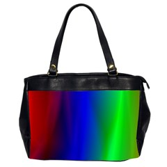 Graphics Gradient Colors Texture Office Handbags (2 Sides)  by Nexatart