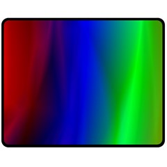 Graphics Gradient Colors Texture Fleece Blanket (medium)  by Nexatart