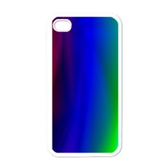 Graphics Gradient Colors Texture Apple Iphone 4 Case (white) by Nexatart