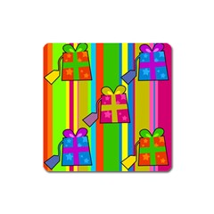 Holiday Gifts Square Magnet