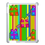 Holiday Gifts Apple iPad 3/4 Case (White) Front