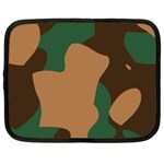 Military Camouflage Netbook Case (XXL)  Front
