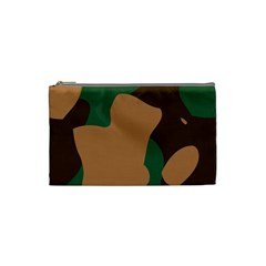 Military Camouflage Cosmetic Bag (small)  by Nexatart