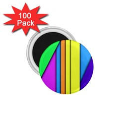 More Color Abstract Pattern 1 75  Magnets (100 Pack)  by Nexatart