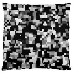 Noise Texture Graphics Generated Large Cushion Case (two Sides)