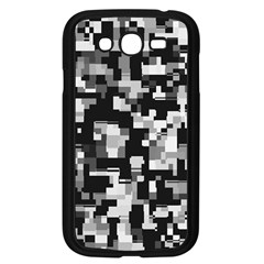 Noise Texture Graphics Generated Samsung Galaxy Grand Duos I9082 Case (black) by Nexatart