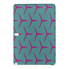 Pattern Background Structure Pink Samsung Galaxy Tab Pro 12 2 Hardshell Case by Nexatart