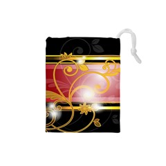 Pattern Vectors Illustration Drawstring Pouches (small)  by Nexatart