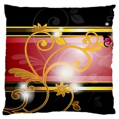 Pattern Vectors Illustration Large Flano Cushion Case (two Sides) by Nexatart