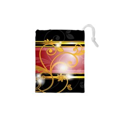 Pattern Vectors Illustration Drawstring Pouches (xs)