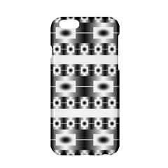 Pattern Background Texture Black Apple Iphone 6/6s Hardshell Case by Nexatart