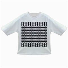 Pattern Background Texture Black Infant/Toddler T-Shirts