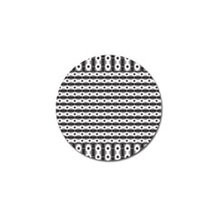 Pattern Background Texture Black Golf Ball Marker (10 pack)