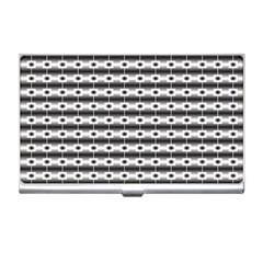 Pattern Background Texture Black Business Card Holders