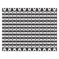 Pattern Background Texture Black Rectangular Jigsaw Puzzl
