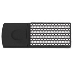 Pattern Background Texture Black USB Flash Drive Rectangular (4 GB)