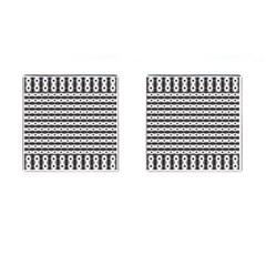Pattern Background Texture Black Cufflinks (Square)