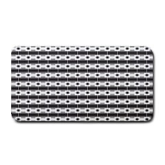 Pattern Background Texture Black Medium Bar Mats