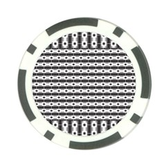 Pattern Background Texture Black Poker Chip Card Guard