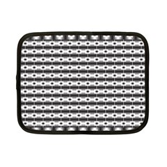 Pattern Background Texture Black Netbook Case (Small)