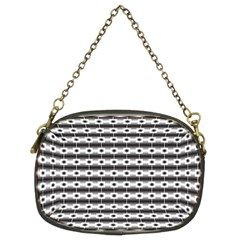 Pattern Background Texture Black Chain Purses (Two Sides)