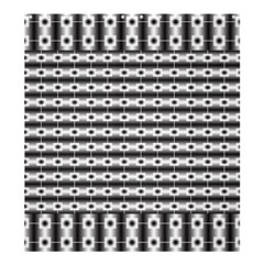 Pattern Background Texture Black Shower Curtain 66  x 72  (Large)