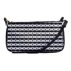 Pattern Background Texture Black Shoulder Clutch Bags