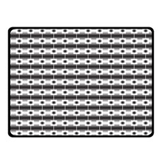 Pattern Background Texture Black Fleece Blanket (Small)