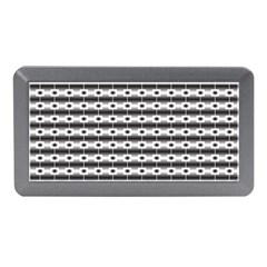 Pattern Background Texture Black Memory Card Reader (Mini)