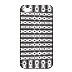 Pattern Background Texture Black Apple iPhone 4/4s Seamless Case (Black)