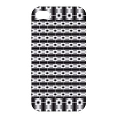 Pattern Background Texture Black Apple iPhone 4/4S Premium Hardshell Case