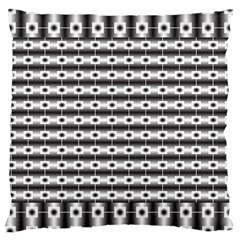 Pattern Background Texture Black Large Cushion Case (One Side)