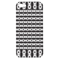 Pattern Background Texture Black Apple iPhone 5 Hardshell Case