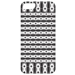 Pattern Background Texture Black Apple iPhone 5 Classic Hardshell Case