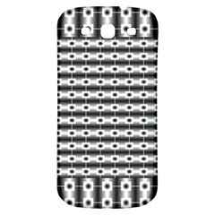 Pattern Background Texture Black Samsung Galaxy S3 S III Classic Hardshell Back Case