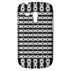 Pattern Background Texture Black Galaxy S3 Mini