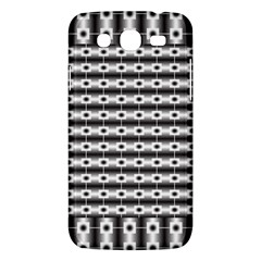 Pattern Background Texture Black Samsung Galaxy Mega 5.8 I9152 Hardshell Case