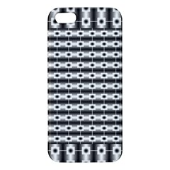 Pattern Background Texture Black iPhone 5S/ SE Premium Hardshell Case