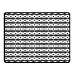 Pattern Background Texture Black Double Sided Fleece Blanket (Small)