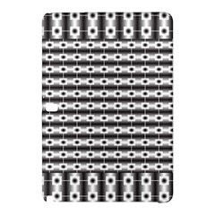 Pattern Background Texture Black Samsung Galaxy Tab Pro 12.2 Hardshell Case