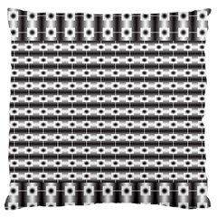 Pattern Background Texture Black Standard Flano Cushion Case (Two Sides)